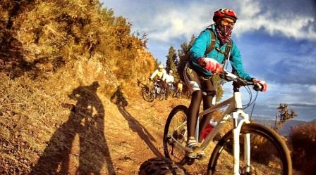 BEST DOWN HILL IN CUSCO  photo by perucycling