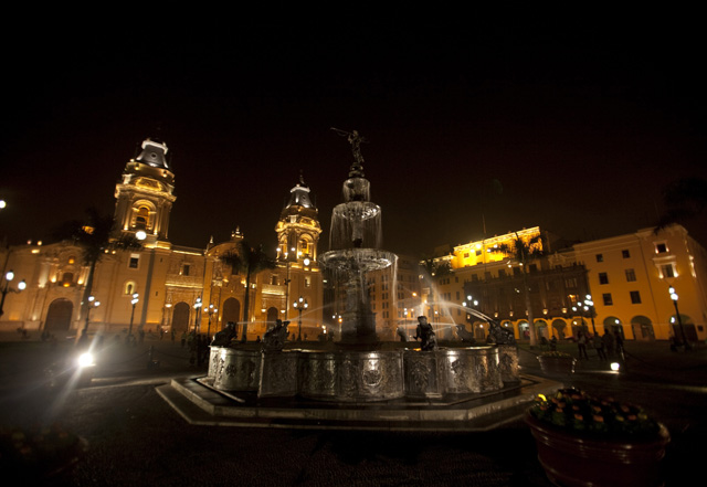 LIMA AND CUSCO - Main program