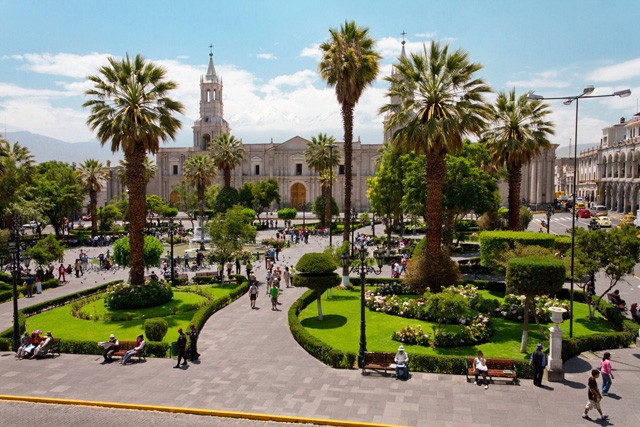 Fiestas Patrias 2016 En Arequipa & Puno