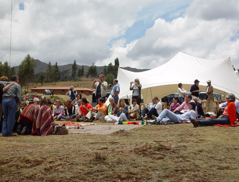 Construyendo con una Famillia Local - Cusco